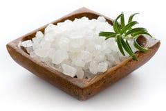 Overzees zout stock fotografie