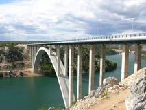 Overzeese brug Royalty-vrije Stock Foto
