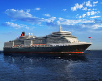 Overzeese cruisevoering Stock Afbeelding