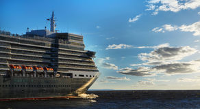 Overzeese cruisevoering Royalty-vrije Stock Foto