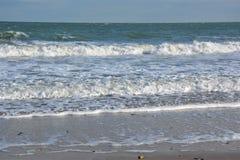 Overzeese golven stock fotografie