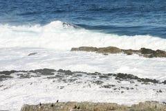 Overzeese golven 2 Stock Afbeeldingen