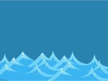 Overzeese golven Royalty-vrije Stock Afbeeldingen
