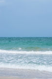 Overzeese golven Royalty-vrije Stock Fotografie