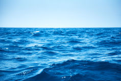 Overzeese golven Stock Afbeelding