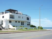 Overzeese huizen Stock Fotografie