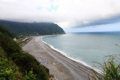 Overzeese kant van Hualian, Taiwan Royalty-vrije Stock Foto