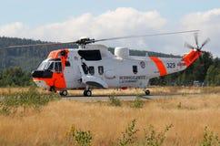 Overzeese koningshelikopter Stock Afbeelding