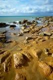 Overzeese kust stock afbeelding