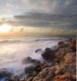 Overzeese kust Royalty-vrije Stock Foto