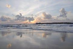 Overzeese kust Royalty-vrije Stock Afbeelding