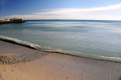 Overzeese kust Stock Fotografie