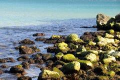 Overzeese kust Stock Foto