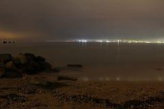 Overzeese kust Stock Foto's