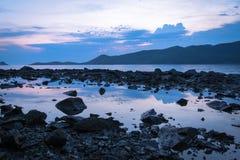 Overzeese kust Royalty-vrije Stock Foto's