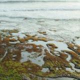 Overzeese kust in Bali Royalty-vrije Stock Afbeeldingen