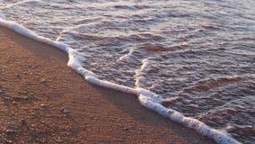 Overzeese kust Mening van hierboven Stock Foto's