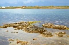 Overzeese kust van de Krim Royalty-vrije Stock Afbeeldingen