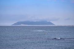 Overzeese kust van Odysseus-Mening van Ithaca-Eiland royalty-vrije stock foto's