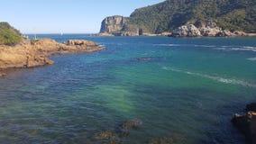 Overzeese lagune Royalty-vrije Stock Foto
