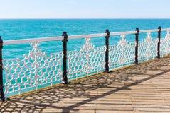 Overzeese mening, Brighton Royalty-vrije Stock Foto's