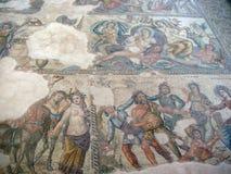 Overzeese meningen van de Cypriotische kust dichtbij de stad van Paphos royalty-vrije stock fotografie