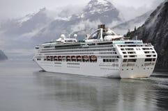 Overzeese Prinses in de Baai van de Gletsjer Stock Fotografie