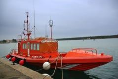 Overzeese Reddingsboot Royalty-vrije Stock Afbeeldingen