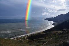 Overzeese regenboog Royalty-vrije Stock Afbeelding