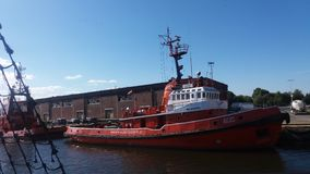 "Overzeese reis in het Poolse overzees van GdaÅ ""sk Stock Foto's"