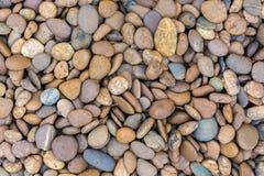 Overzeese stenen achtergrondsinaasappel Royalty-vrije Stock Afbeeldingen