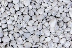 Overzeese stenen achtergrondwit Royalty-vrije Stock Fotografie