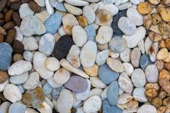 Overzeese stenen achtergrondwit Royalty-vrije Stock Afbeelding