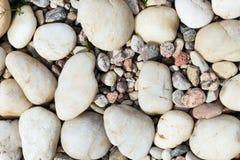 Overzeese stenen geweven achtergrond Stock Afbeelding