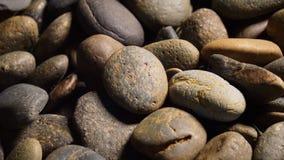 Overzeese stenenachtergrond Stock Foto's