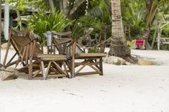 Overzeese Strand en Vakantie in Eiland Munklang royalty-vrije stock foto