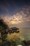 Overzeese Strand en Vakantie in Eiland Munklang royalty-vrije stock foto's