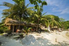 Overzeese Strand en Vakantie in Eiland Munklang Stock Fotografie