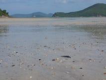 Overzeese stranden stock foto's