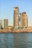 Overzeese Torenswolkenkrabber in Gdynia op 13 Juny 2015, Polen Royalty-vrije Stock Foto's