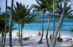 OVERZEESE VAN AMERIKA CARIBBIAN DOMINICAANSE REPUBLIEK Stock Foto