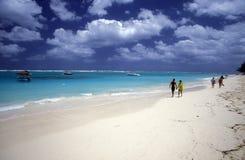 OVERZEESE VAN AMERIKA CARIBBIAN DOMINICAANSE REPUBLIEK Royalty-vrije Stock Foto's