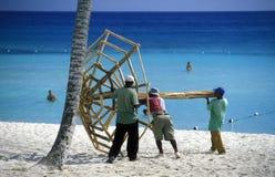 OVERZEESE VAN AMERIKA CARIBBIAN DOMINICAANSE REPUBLIEK Stock Afbeelding