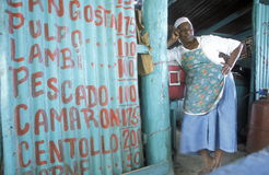 OVERZEESE VAN AMERIKA CARIBBIAN DOMINICAANSE REPUBLIEK Stock Fotografie