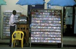 OVERZEESE VAN AMERIKA CARIBBIAN DOMINICAANSE REPUBLIEK Stock Foto's