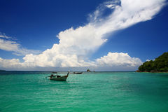 Overzeese van Andaman Mening Stock Foto