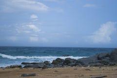 Overzeese van Aruba ` s Mening Royalty-vrije Stock Fotografie
