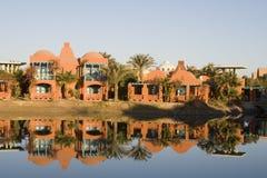 Overzeese van Gr Gouna Rode Toevlucht Egypte Royalty-vrije Stock Foto's