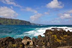 Overzeese van Hawaï kust Royalty-vrije Stock Afbeelding