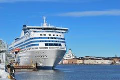 Overzeese van Helsinki haven royalty-vrije stock afbeeldingen